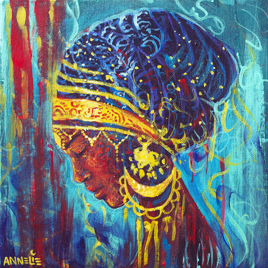 Canvas African Art Etsy