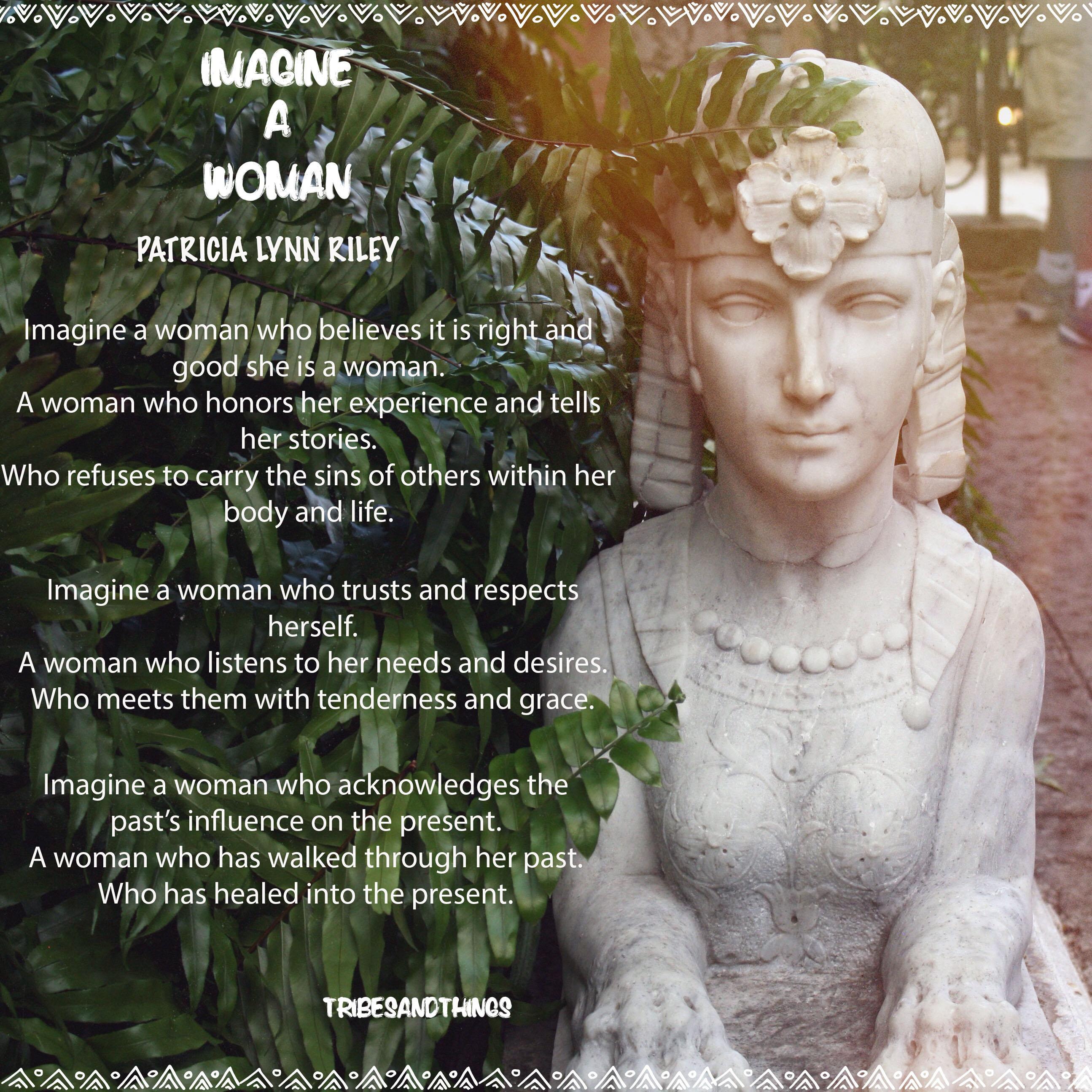 IMAGINE A WOMAN 1